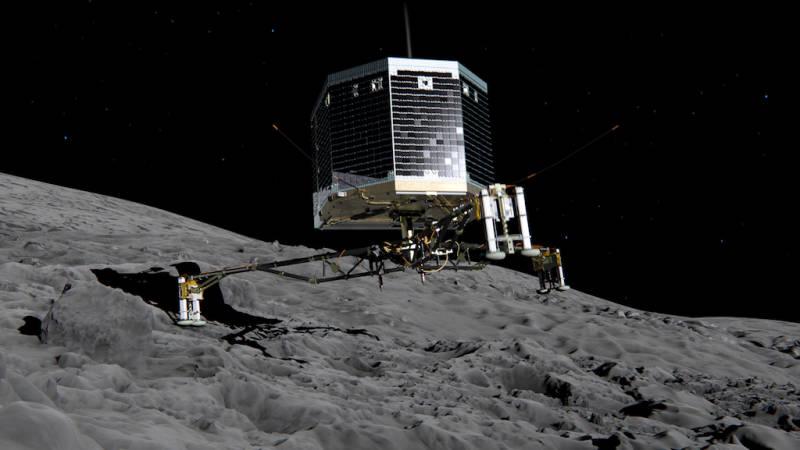 Rosetta, Philae e lo sbarco sulla Cometa
